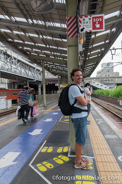 estacion tren Japon