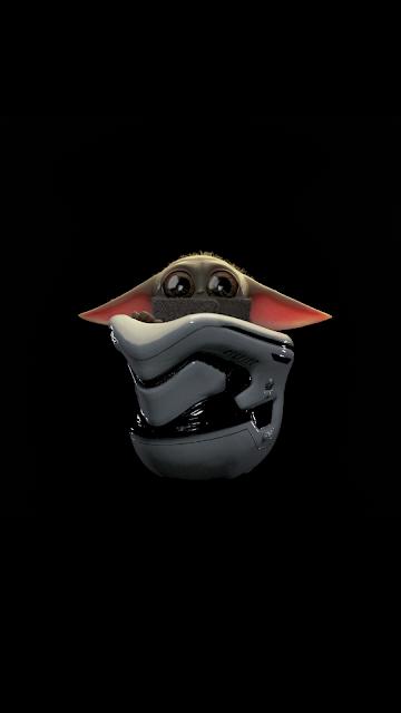 Lock Screen Wallpaper Of Baby Yoda