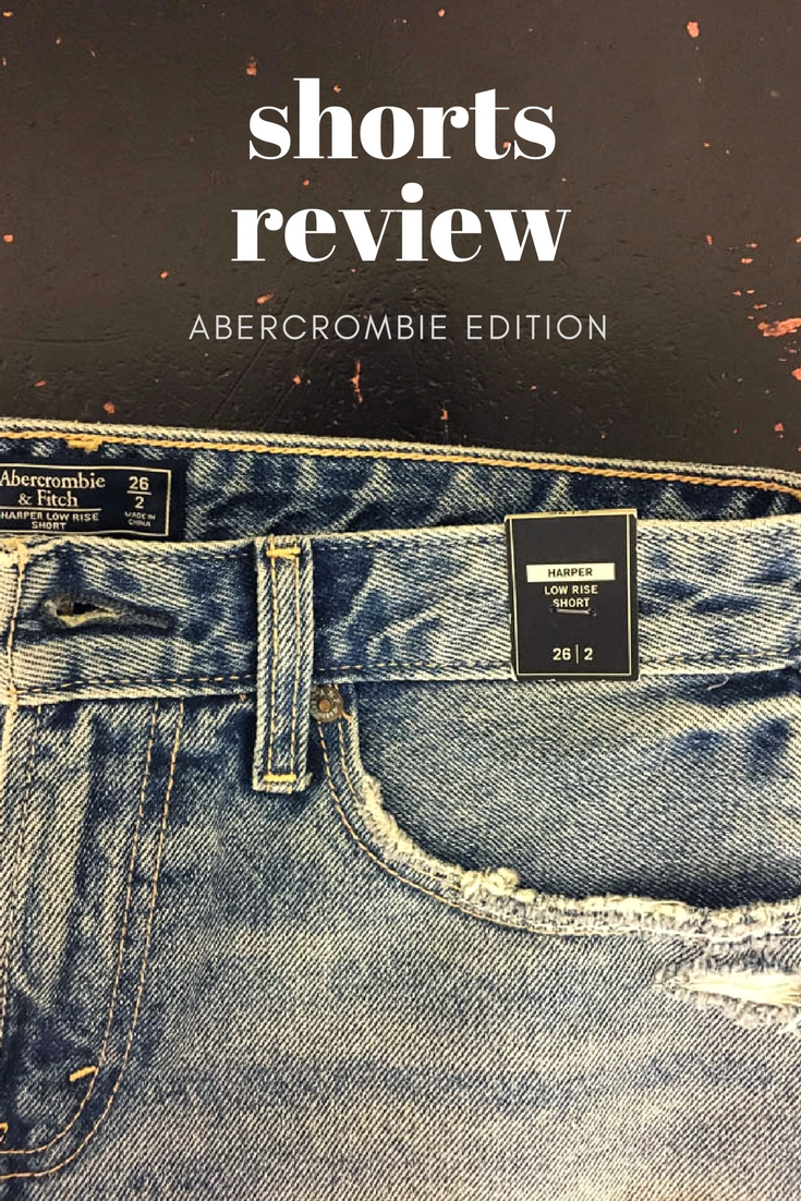 a&f jean shorts review