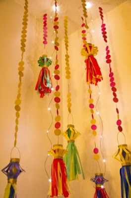 DIY Diwali decorations