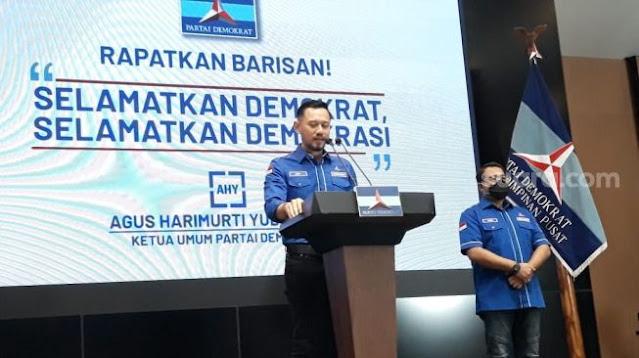 Pemerintah Jokowi Nyatakan AHY Ketua Umum Partai Demokrat yang Resmi