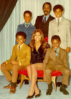 Picture of Ike Turner's family