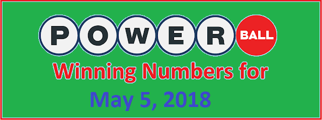PowerBall Winning Number for Saturday 5 May 2018