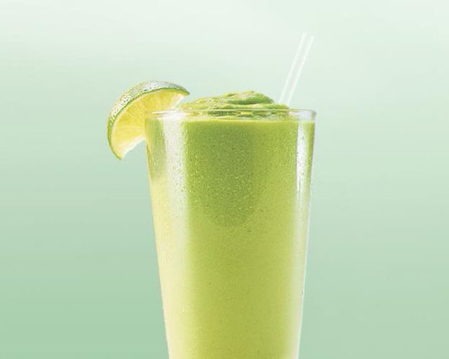 Color photo with kiwi quencher