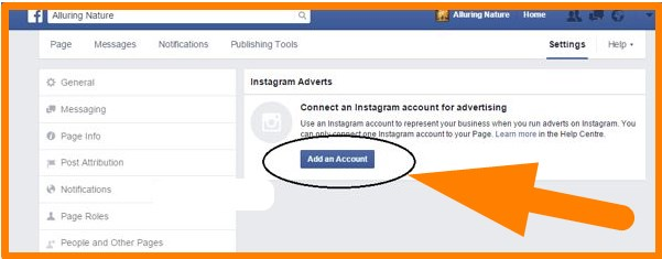 how to add instagram to facebook profile