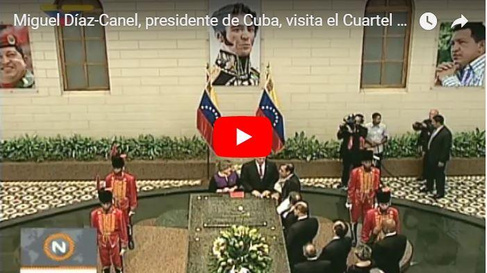 Dictador cubano fue a cerciorarse que Chavez estaba bine muerto
