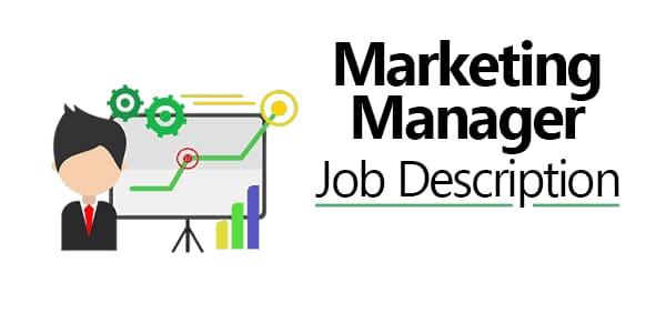 marketing executive job description template qualities manager