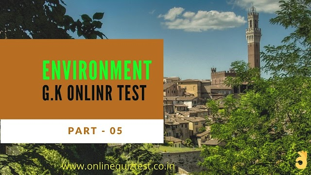 online environmental studies objective questions and answers quiz in hindi - Part-05
