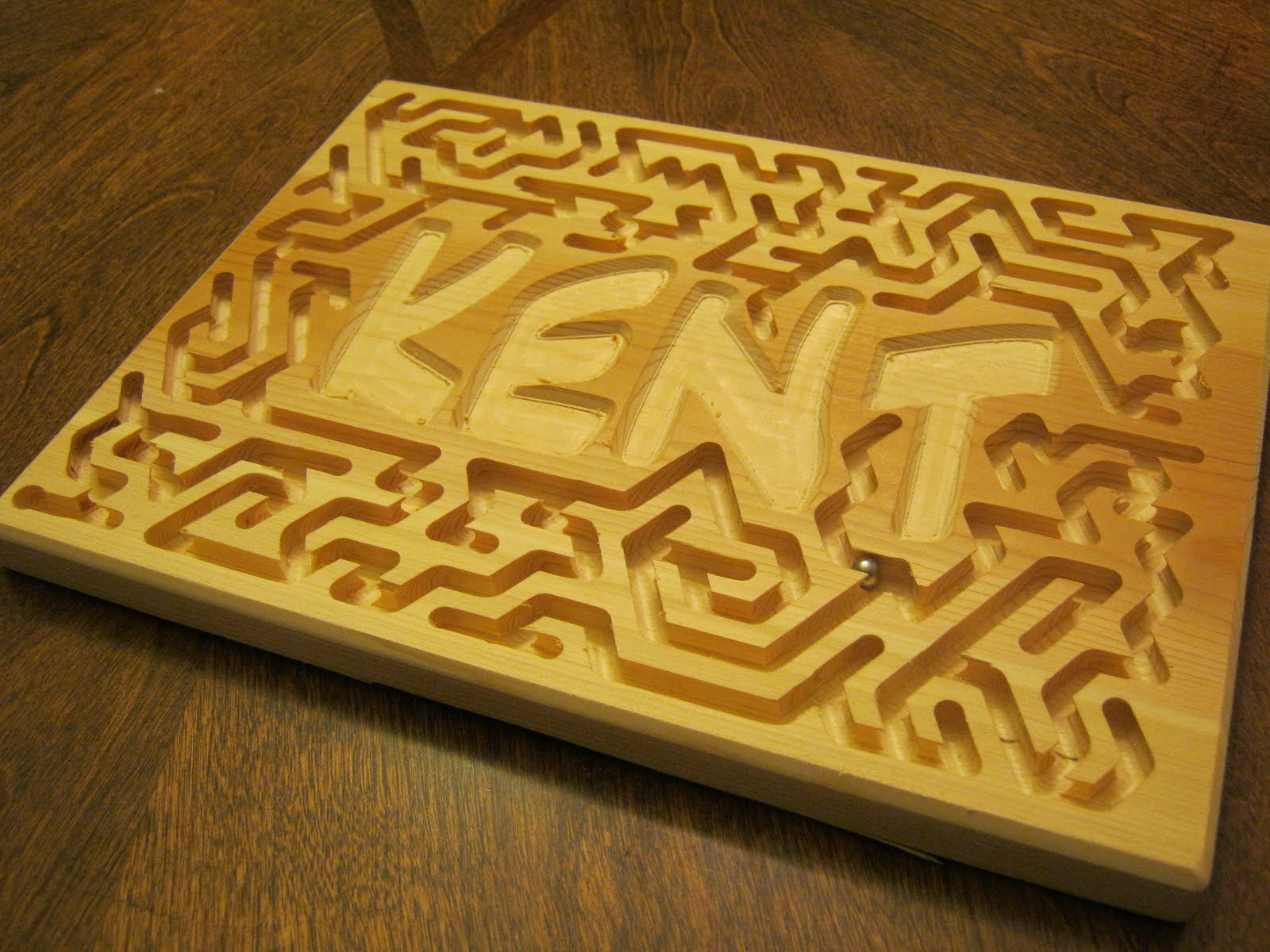 Perry Projects Marble Maze Board