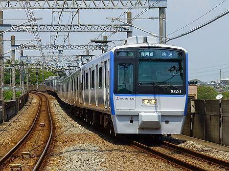 快速 湘南台行き9000系幕車