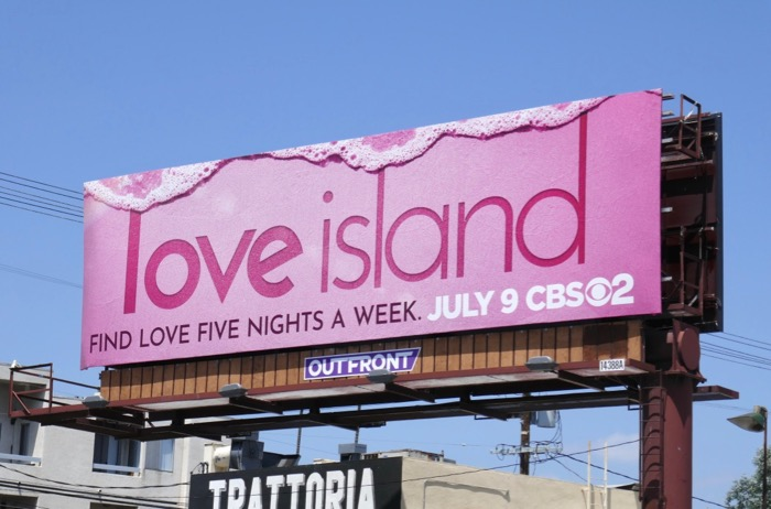 Love Island US remake billboard