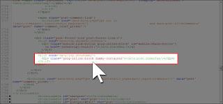 Remplacer le code XML du bouton Google+1