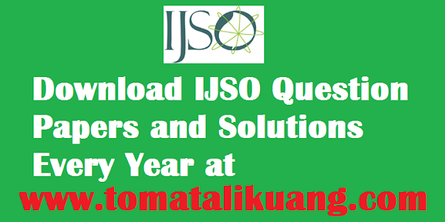 ijso international junior science olympiad question papers and solutions pdf tomatalikuang.com