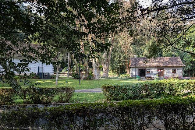 Casas polonesas no Parque João Paulo II - um outro ângulo