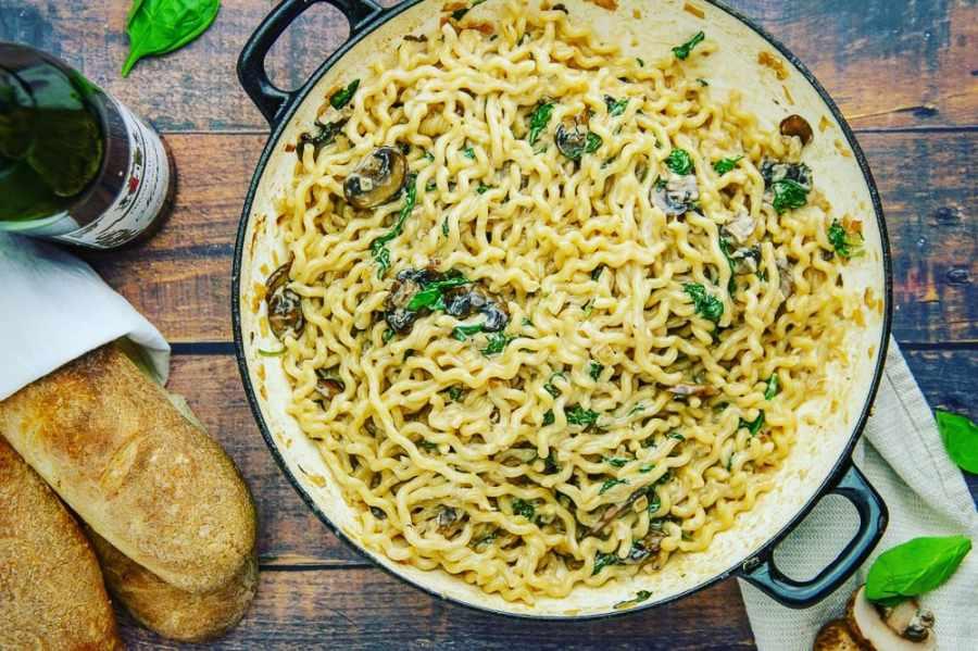नूडल्स या पास्ता के स्वाद