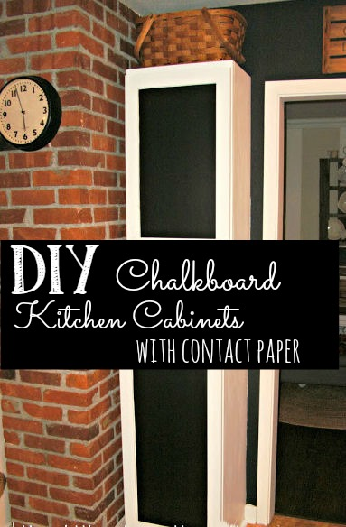 chalkboard kitchen cupboards