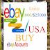 buy ebay USA account limit 1000/25000$