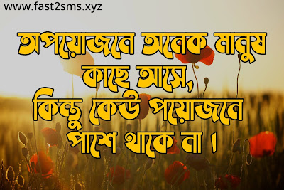 Bangla sad love sms by fast2smsxyz