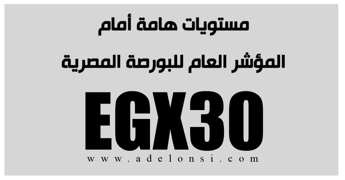 البورصة المصرية، المؤشر العام للبورصة المصرية، صعود البورصة المصرية.