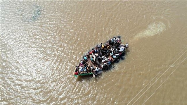 Indian authorities moved around a million people into camps as India flood toll hits 184