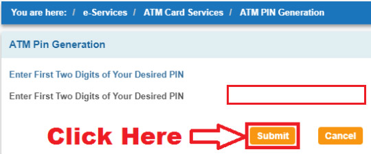 how to generate sbi atm pin for new debit card