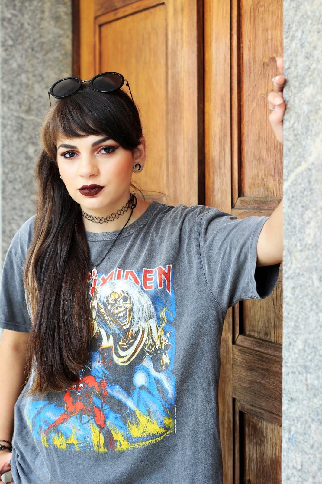 104405cfa T-shirt: Topshop / Calça: Forever 21 / Bolsa: ZARA / Creeper: Asos /  Óculos: Dafiti