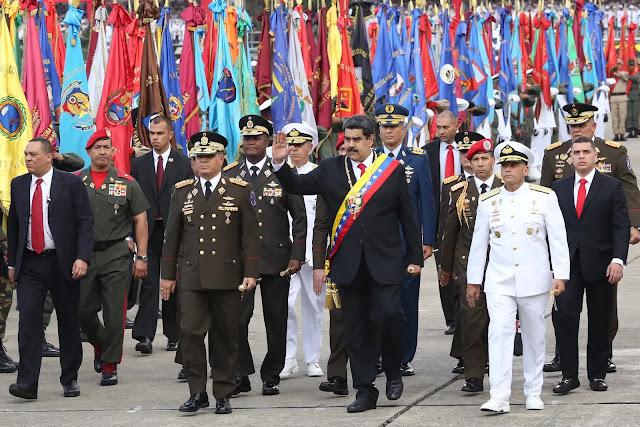 Maduro le quita poder al Ejército y se lo otorga a paramilitares chavistas