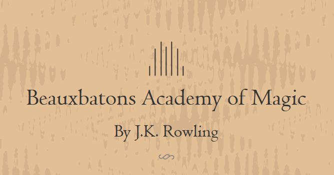 Fantastik Efsaneler Rowling Den Harry Potter Hayranlarina Yeni Okullar Yeni Hikayeler Durmstrang enstitüsü, i̇ngiliz yazar j.k. fantastik efsaneler blogger