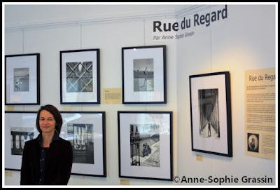 visite à l'exposition rue du regard
