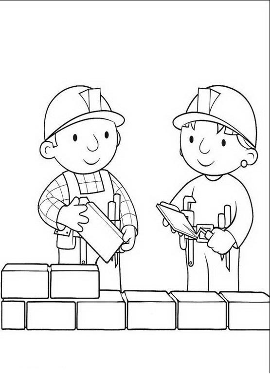 Constructores Para Colorear Y Pintar Dibujo Views
