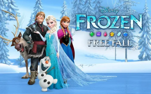 Frozen Free Fall