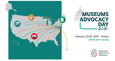 Logo for Museums Advocacy Day 2021