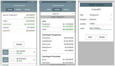 Aplikasi Pengelola Keuangan Pribadi di Android 4