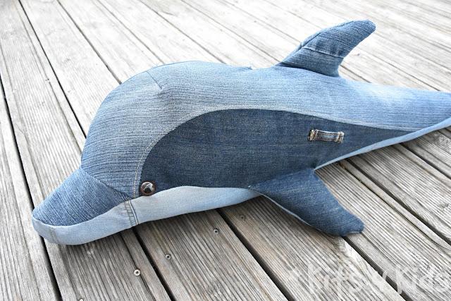 Schnittmuster delfin kostenloses Wal Nähen
