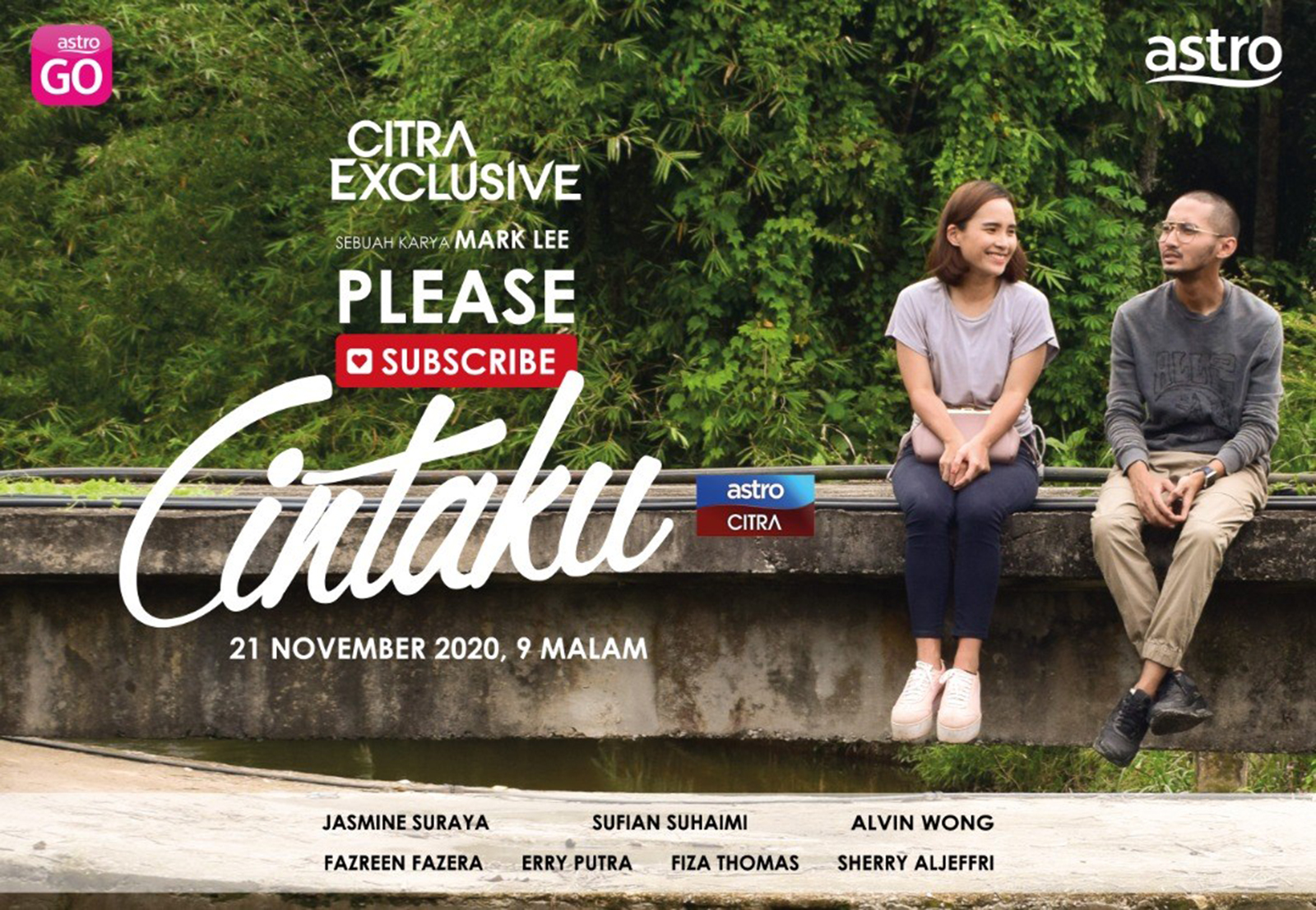 Telefilem Please Subscribe Cintaku