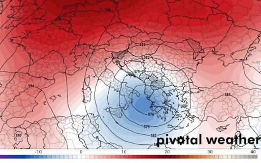 Έρχεται ψυχρή λίμνη, βροχές και πτώση θερμοκρασίας στην Ελλάδα