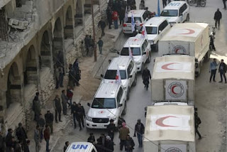 Humanitarian Aid Cargoes in Eastern Ghouta