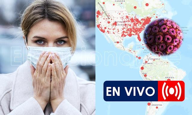 Coronavirus en vivo, minuto a minuto sigue en tiempo real por Google Maps COVID-19