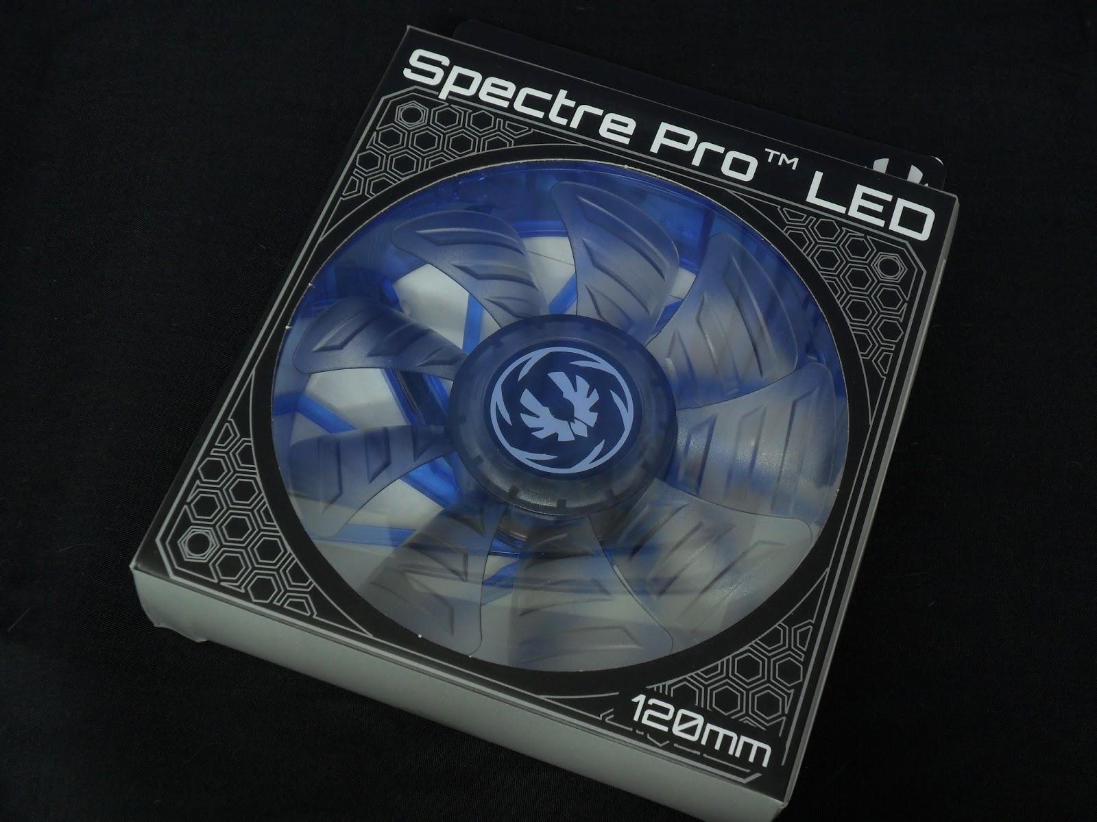 Unboxing & Review : BitFenix Spectre Pro LED 120mm 2