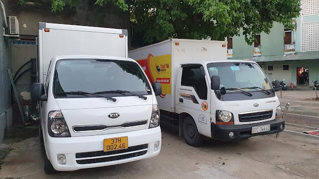 xe tải chở hàng hà tĩnh - tp vinh