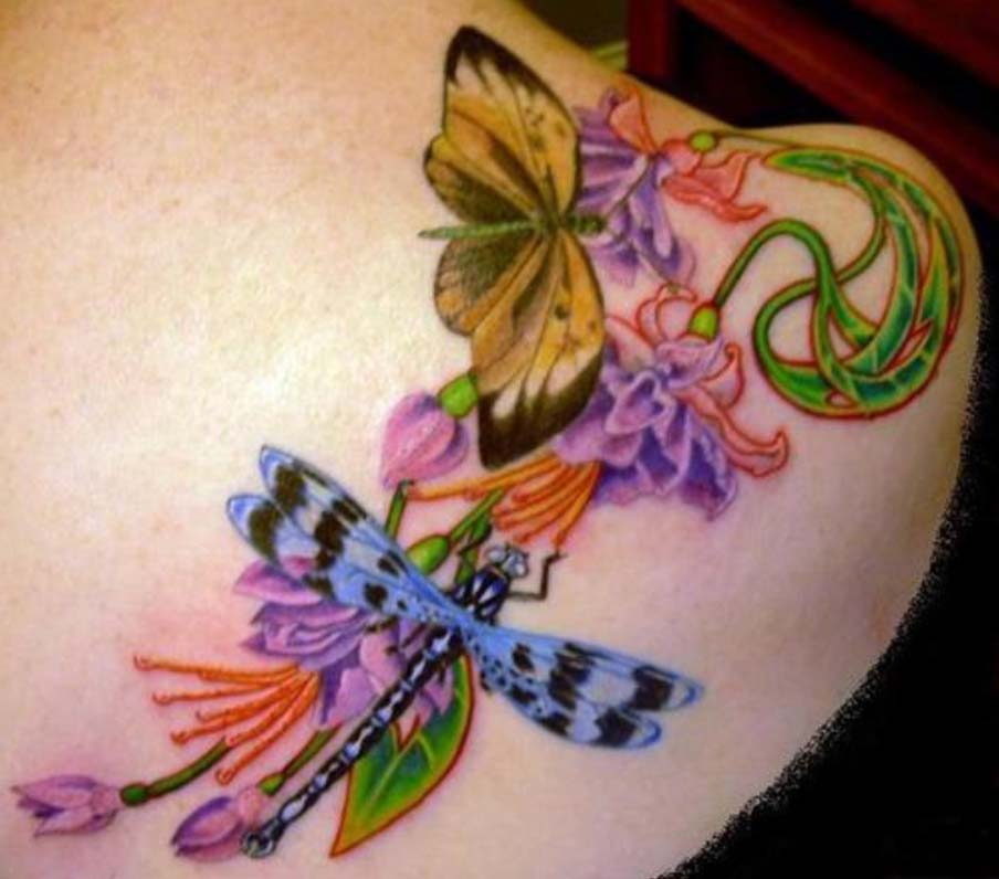 dragonfly tattoo | tattoo gallery - photo#14