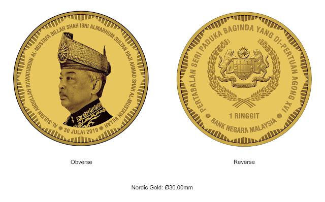 syiling peringatan emas nordic