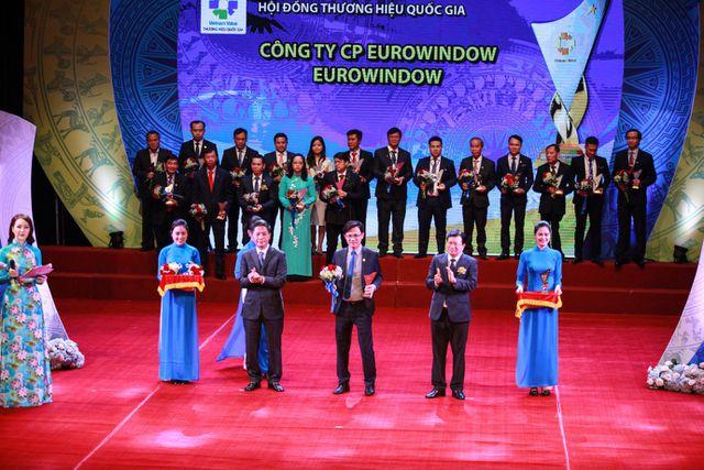 Eurowindow đạt thương hiệu quốc gia lần 4