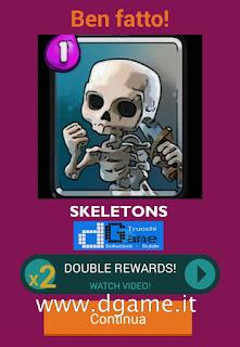 Soluzioni Quiz Clash Royale card livello 24