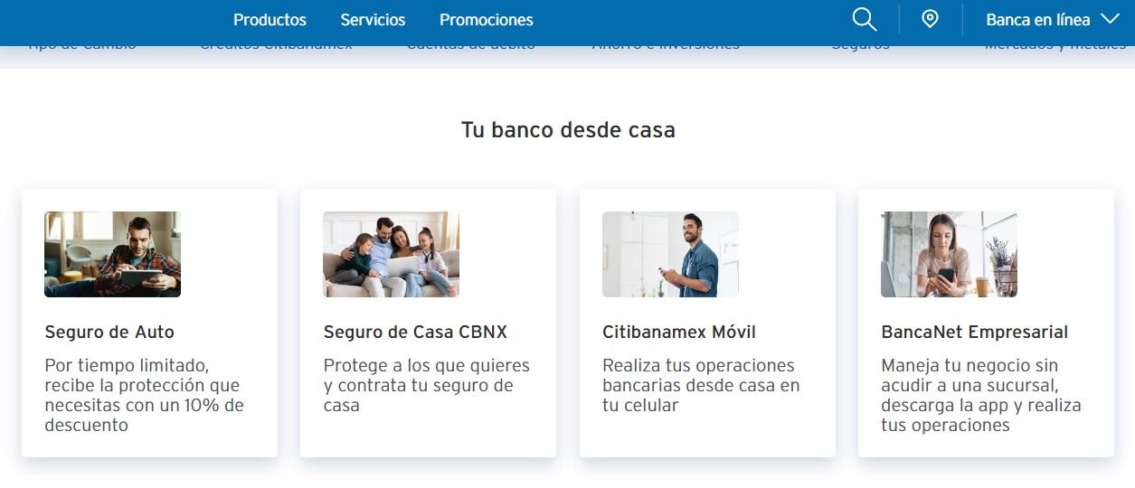 Citibanamex Servicios Financieros en Mexico