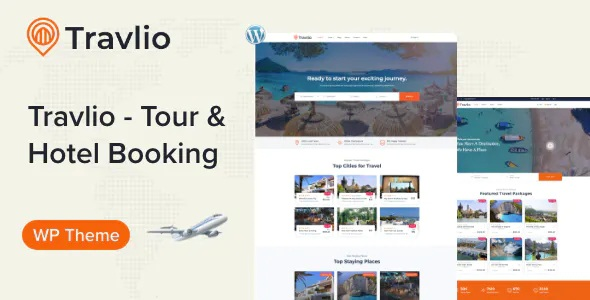 Best Travel Booking WordPress Theme