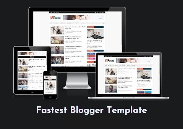 Fastest Premium Blogger Template Free