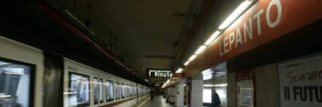 Lepanto, con una pistola nella stazione metro: fermata una donna
