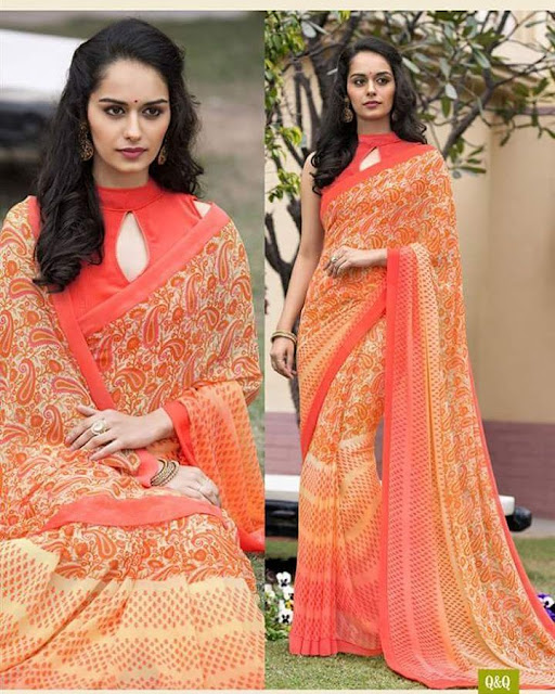 Manushi Chillar is carrying elegance and beauty in this pic.