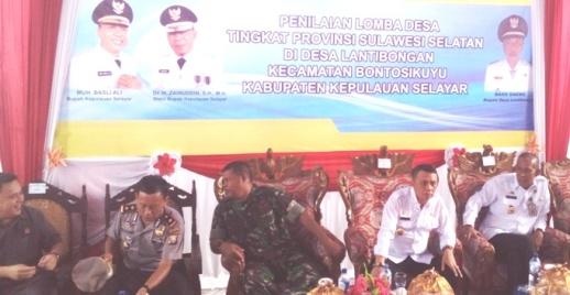 Lensa Penilaian Lomdes Tk. Prov.Sulsel 2017 Di Desa Lantibongan, Selayar